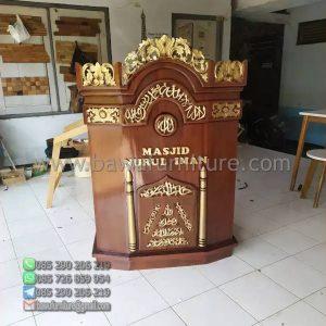 Mimbar Masjid Nurul Iman