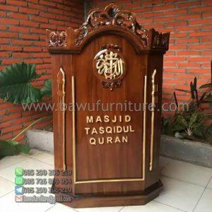 Mimbar Masjid Tasqidul Quran