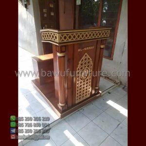 Mimbar Minimalis Masjid Al Hikmah