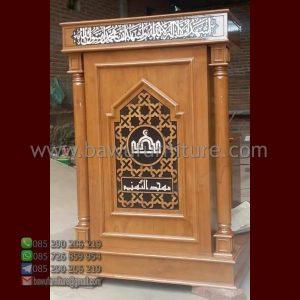 Mimbar Minimalis Terbaru Untuk Masjid