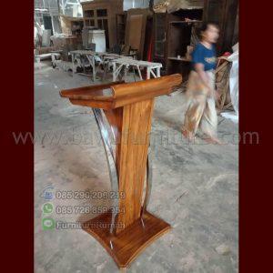 Podium Minimalis Stainless Tangerang