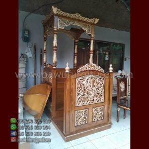 Mimbar Masjid Cilacap