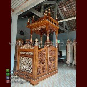 Mimbar Masjid Karanganyar