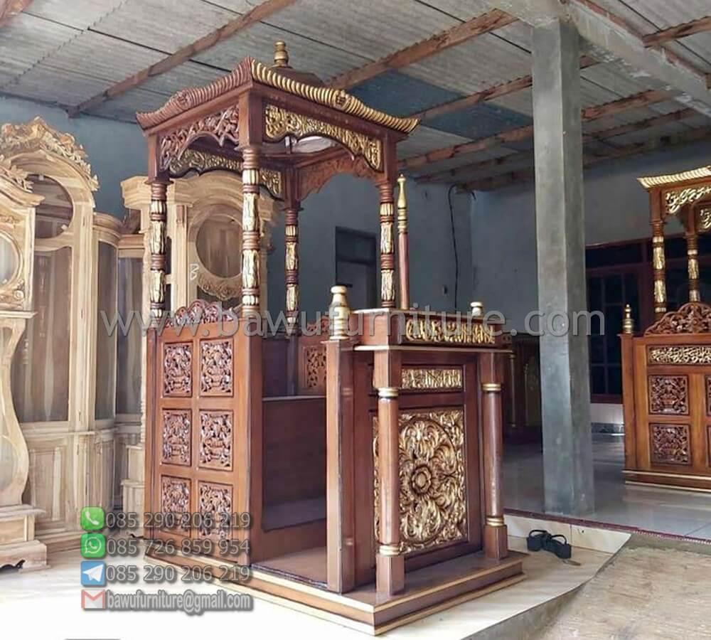 Mimbar Masjid Kendal