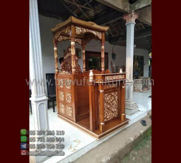 Mimbar Masjid Kudus