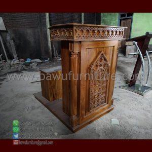 Mimbar Masjid Minimalis Malang