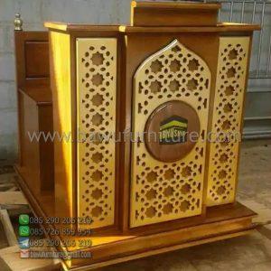 Mimbar Masjid Minimalis Pekalongan