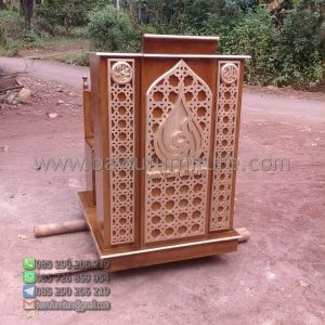 Mimbar Masjid Minimalis Salatiga
