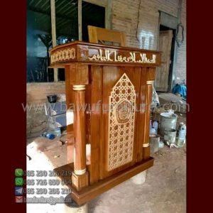 Mimbar Masjid Minimalis Tegal