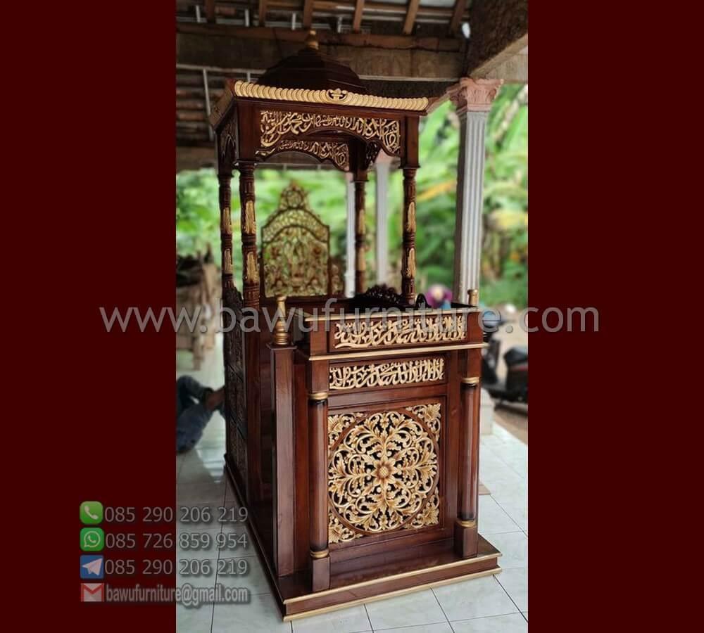 Jual Mimbar Masjid Pati