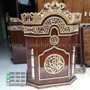 Mimbar Masjid Ukir Pasuruan