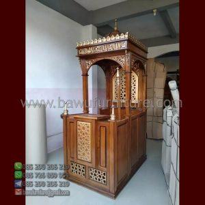 Mimbar Masjid Jogjakarta
